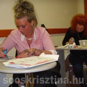 Hennafestés tanfolyam. Oktató: Soós Krisztina