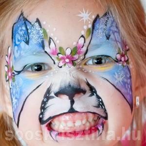 Cica-pillantó arcfestés, Soós Krisztina