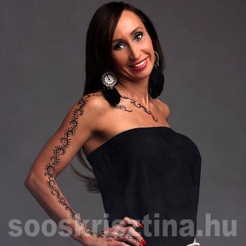 Csillám tetoválás fotózáshoz. Készítette: Soós Krisztina