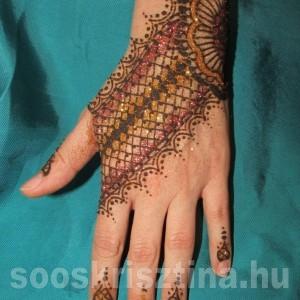 Csipke henna. Hennafestő: Soós Krisztina