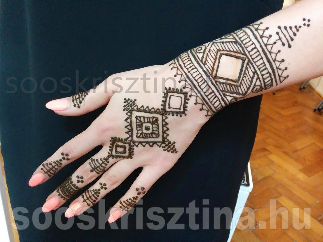 Marokkói stilusú henna, Soós Krisztina