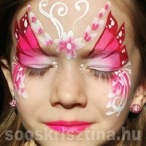 Tavasztündér arcfestés, Soós Krisztina arcfestő