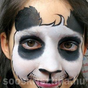 Panda arcfestés, Soós Krisztina arcfestő