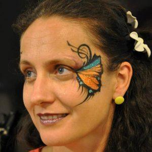 Soós Krisztina, arcfestő, hennafestő, csillámfestő, Budapest
