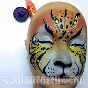 Kezdő arcfestés oktatás, oktató: Soós Krisztina