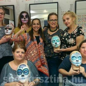 Arcfestés középhaladó tanfolyam, oktató: Soós Krisztina