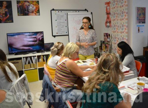 Hennafestés oktatás, CsillámVilág, Oktató: Soós Krisztina