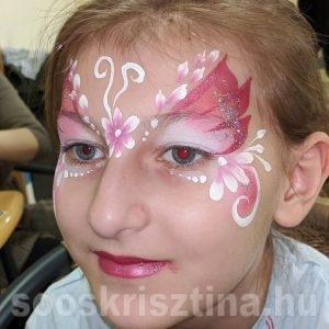 Tündér arcfestés, Soós Krisztina
