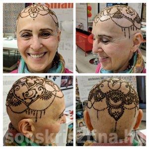 Fej henna, montázs, Soós Krisztina